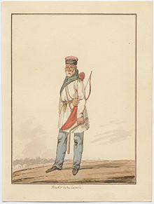 «Башкир», акварель Финарда Давида Ноэля Дьедонне.