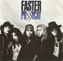 Обложка альбома Faster Pussycat «Faster Pussycat» (1987)