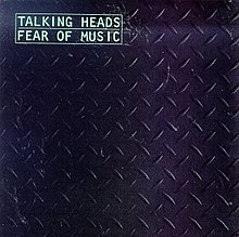 Обложка альбома Talking Heads «Fear of Music» (1979)