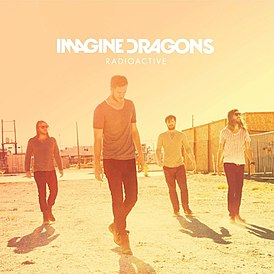 Обложка сингла Imagine Dragons «Radioactive» (2013)