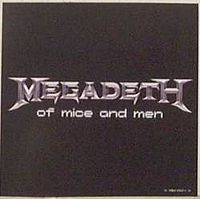 Обложка сингла «Of Mice and Men» (Megadeth, 2005)