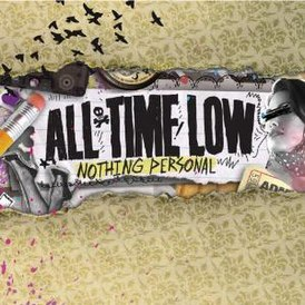 Обложка альбома All Time Low «Nothing Personal» (2009)