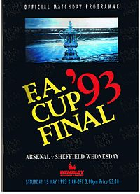 1993 FA Cup Final programme.jpg