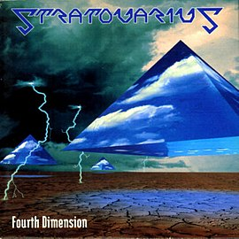 Обложка альбома Stratovarius «Fourth Dimension» (1995)