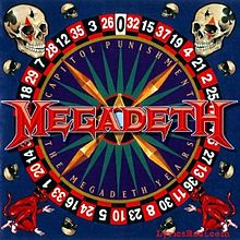 Обложка альбома Megadeth «Capitol Punishment: The Megadeth Years» (2000)