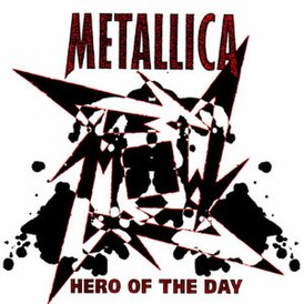 Обложка сингла Metallica «Hero of the Day» (1996)