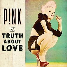 Обложка альбома Pink «The Truth About Love» (2012)