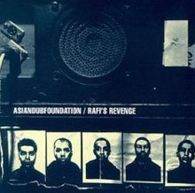 Обложка альбома Asian Dub Foundation «Rafi's Revenge» (1998)