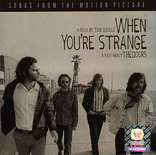 Обложка альбома The Doors «When You're Strange: Music from the Motion Picture» (2010)