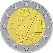 €2 Commemorative coin Portugal 2012.jpg