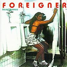 Обложка альбома Foreigner «Head Games» (1979)