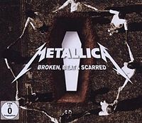Обложка сингла «Broken, Beat & Scarred» (Metallica, 2009)