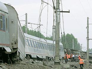 Попавшие под поезд в декабре 2008 году
