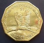 Belize 1 dollar 2012.JPG