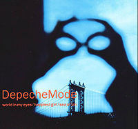 Обложка сингла «World in My Eyes» (Depeche Mode, 1990)