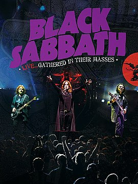 Обложка альбома Black Sabbath «Live… Gathered in Their Masses» (2013)