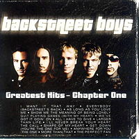 Обложка альбома Backstreet Boys «Greatest Hits – Chapter One» (2001)