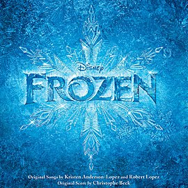 Обложка альбома «Frozen (Original Motion Picture Soundtrack)» ()