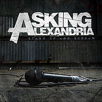 Обложка альбома Asking Alexandria «Stand Up and Scream» (2009)