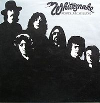 Обложка альбома Whitesnake «Ready an' Willing» (1980)