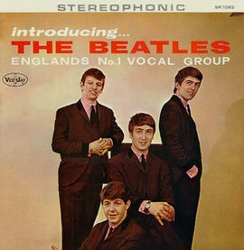 Обложка альбома The Beatles «Introducing… The Beatles» (1964)