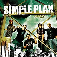 Обложка сингла «Crazy» (Simple Plan, 2005)