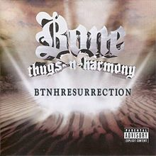Обложка альбома Bone Thugs-N-Harmony «BTNHResurrection» (2000)