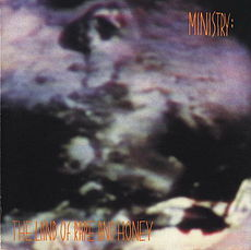 Обложка альбома Ministry «The Land of Rape and Honey» (1988)