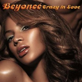 Обложка сингла Бейонсе при участии Jay-Z «Crazy in Love» ()