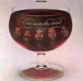 Обложка альбома Deep Purple «Come Taste the Band» (1975)