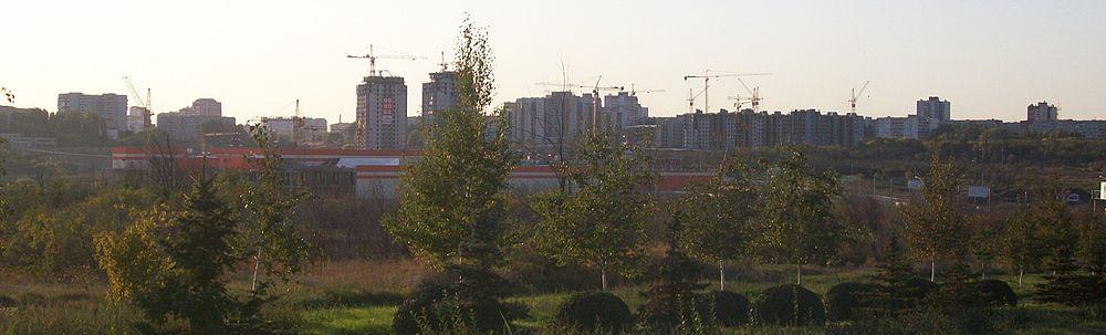 Вид Волгограда (Дзержинский
