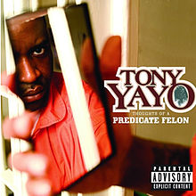 Обложка альбома Tony Yayo «Thoughts of a Predicate Felon» (2005)