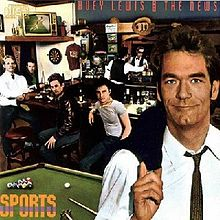 Обложка альбома Huey Lewis and the News «Sports» (1983)