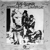 Обложка сингла «School's Out» (Alice Cooper, (1972))