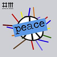 Обложка сингла «Peace» (Depeche Mode, 2009)