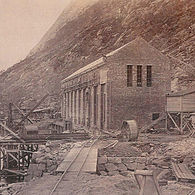 Florli powerstation 1917.jpg