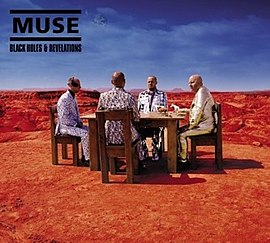 Обложка альбома Muse «Black Holes and Revelations» (2006)