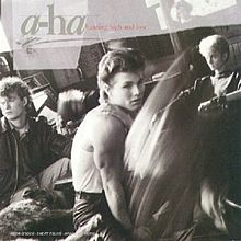 Обложка альбома a-ha «Hunting High and Low» (1985)