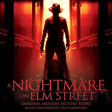 Обложка альбома Стива Яблонски «A Nightmare On Elm Street:Original Motion Picture Soundtrack» (2010)