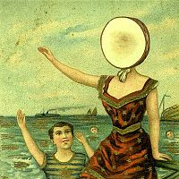 Обложка альбома Neutral Milk Hotel «In the Aeroplane Over the Sea» (1998)