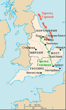 Карта древней англии уэссекс