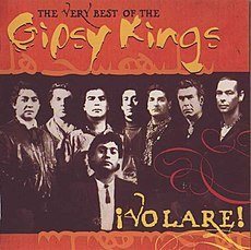 Обложка альбома Gipsy Kings «Volare! The Very Best of Gipsy Kings» (2000)