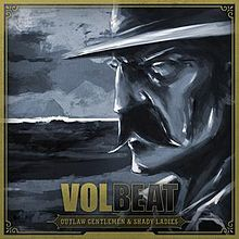 Обложка альбома Volbeat «Outlaw Gentlemen  & Shady Ladies» (2013)