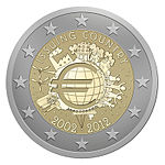 €2 Commemorative coin Austria 2012.jpg