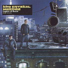 Обложка альбома The Crystal Method «Legion of Boom» (2004)