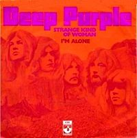Обложка сингла «Strange Kind of Woman» (Deep Purple, 1971)