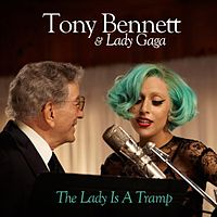 Обложка сингла «The Lady Is a Tramp» (Tony Bennett и Леди Гага, 2011)