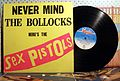Обложка пластинки Never Mind the Bollocks, Here is the Sex Pistols 1977.jpg
