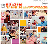 Обложка альбома The Beach Boys «All Summer Long» (1964)