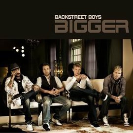 Обложка сингла Backstreet Boys «Bigger» (2009)